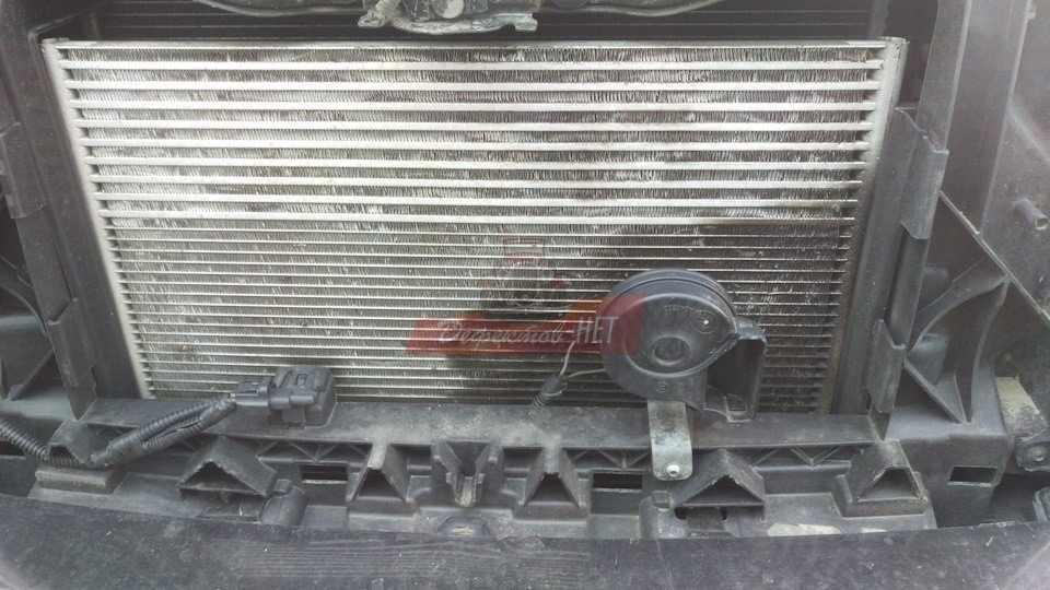 Промывка радиатора автомобиля паром