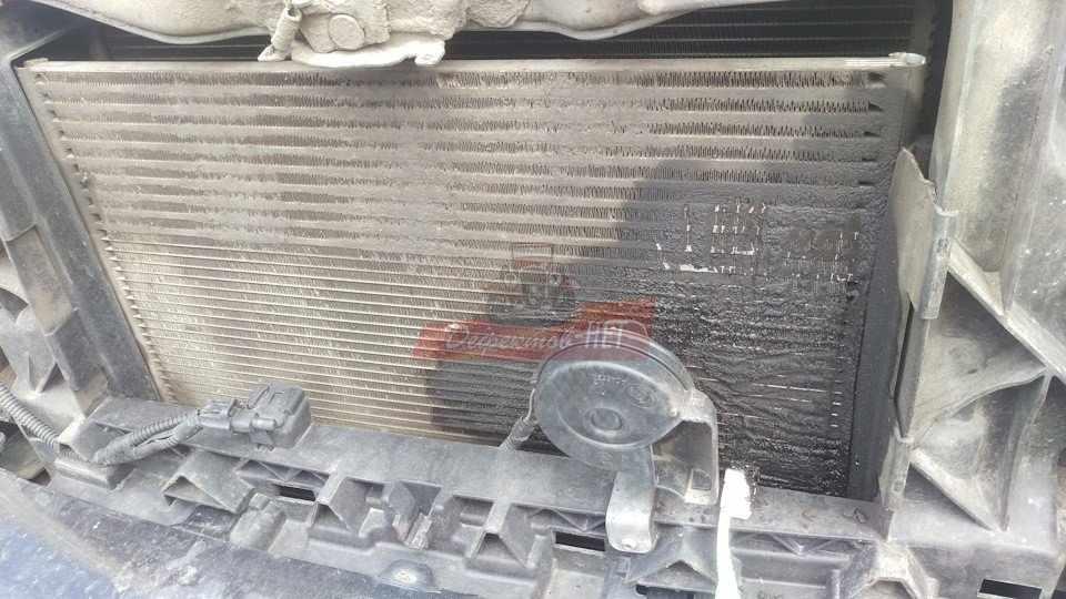 Профессиональная мойка радиатора паром